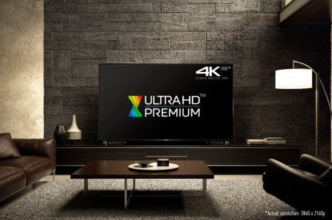 An Ultra HD Premium TV